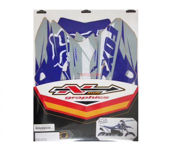 N-STYLE Tankdekor FOX TTR 50, blau