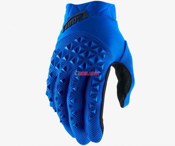 100% Handschuh: Airmatic , blau/schwarz