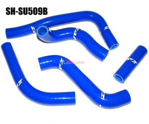 ZAP Kühlerschlauch-Set RMZ 450 08-17, blau