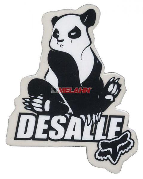 FOX Aufkleber: Desalle MX Panda, 6x4cm