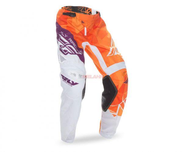 FLY Hose: Crux, orange/burgund