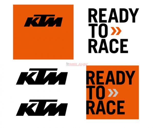KTM Aufkleber-Kit, klein (5-teilig)