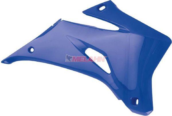 POLISPORT Spoiler (Paar) Kühlerverkleidung YZ 125/250 15-, blau