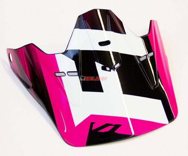FOX Kids Helmschirm: V1 Visor (2015) Vandal, pink