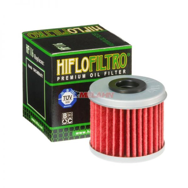 HIFLO Ölfilter HF116, CRF 04- / HVA TE250/310