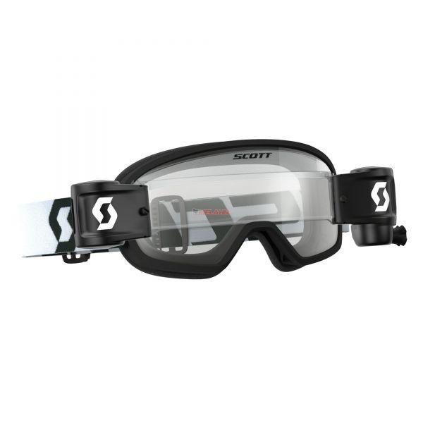 SCOTT Kids Brille: Buzz MX Pro WFS, schwarz, klares Glas