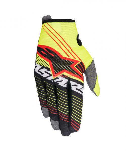 ALPINESTARS Handschuh: Radar Tracker, neon-gelb/schwarz