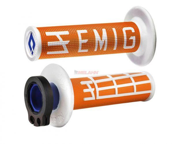 EMIG Griff (Paar): V2 Lock On, 2/4-Takt , orange