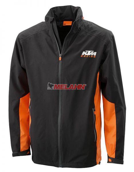 KTM Jacke: Travel, grau/orange