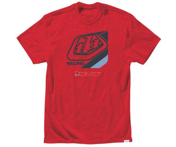 TROY LEE DESIGNS T-Shirt: Precision, rot