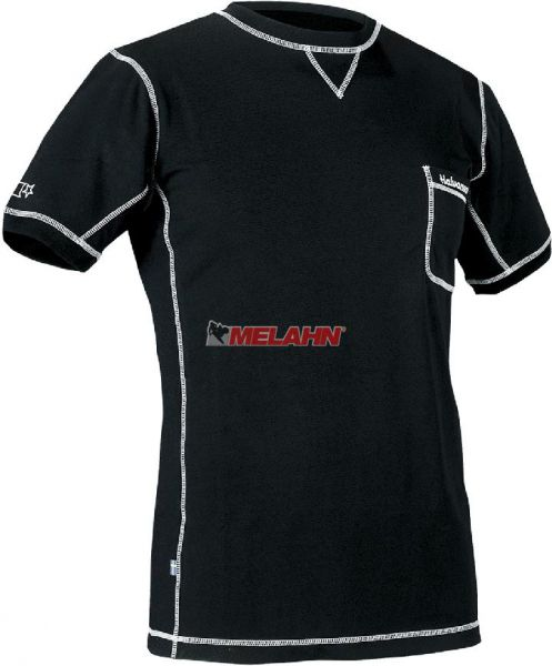 HALVARSSONS Funktions-Shirt: kurz, schwarz