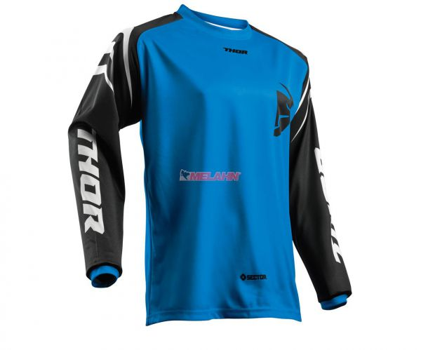 THOR Jersey: Sector Zones, blau