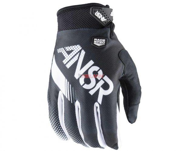 ANSWER Handschuh: Syncron, schwarz/weiss