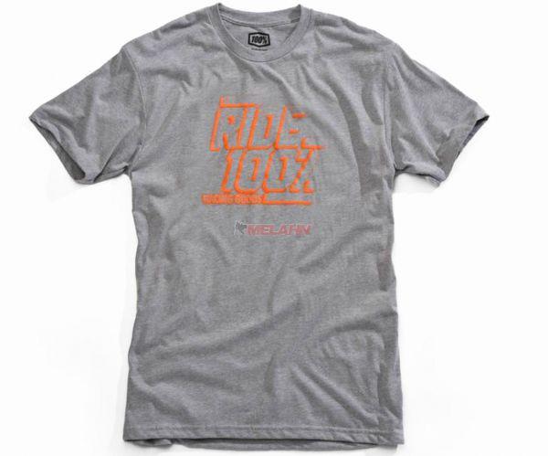 100% T-Shirt: Elliot, heather grey