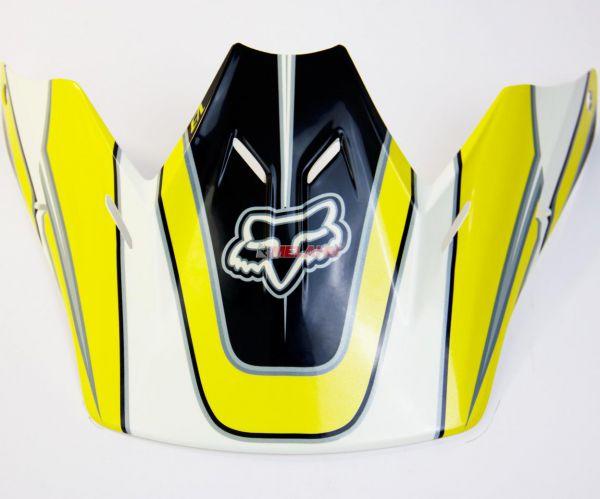FOX Helmschirm: Visor V3 Race 2007, gelb