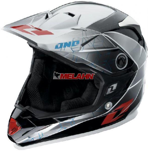 ONE Helm: Trooper 2 Unbalanced, grau
