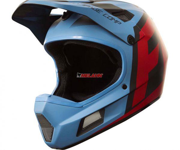 FOX MTB-Helm: Rampage Comp Creo, blau/rot