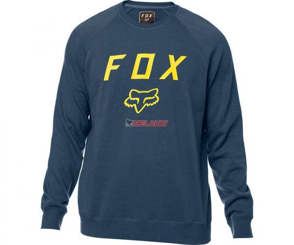 FOX Pullover: Legacy, blau