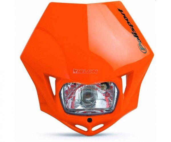 POLISPORT Lampe: MMX, orange