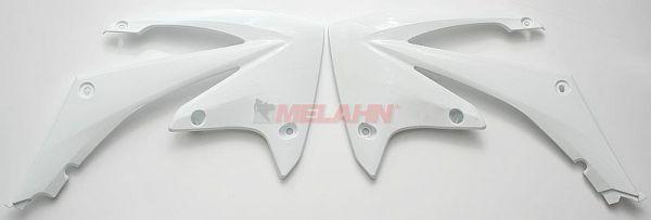 UFO Spoiler (Paar) Kühlerverkleidung CRF 250 10-, 450 09-, weiß