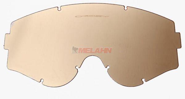 OAKLEY Spiegelglas L-Frame, gold iridium