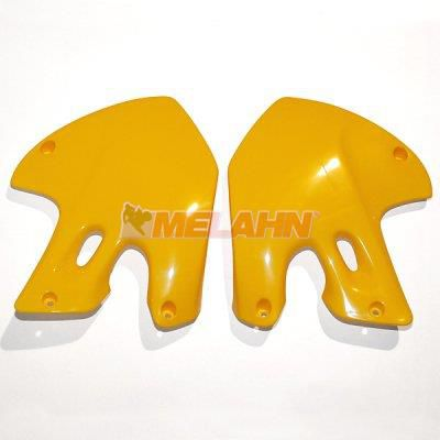 UFO Spoiler (Paar), Kühlerverkleidung, gelb, RM 125/250 99-00