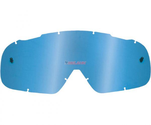 FOX Ersatzglas Roll-Off-System AIR SPACE, blau