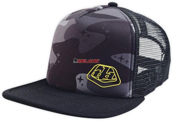 TLD Trucker-Cap: Air-Camo, schwarz