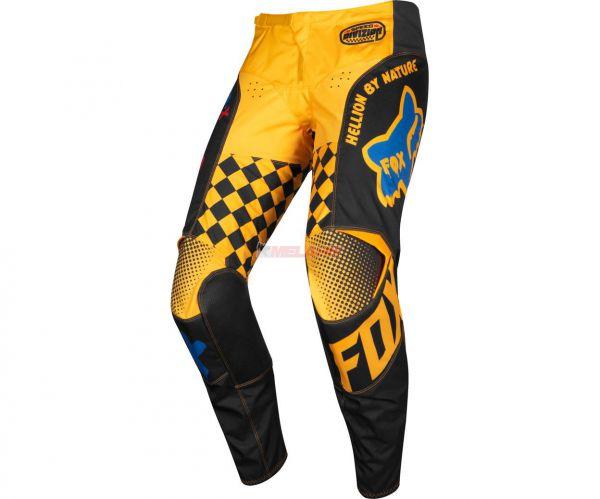 FOX Hose: 180 Czar, schwarz/gelb