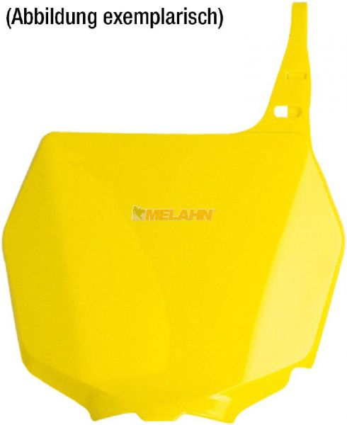 POLISPORT Starttafel RMZ 250 19- / 450 18-, gelb