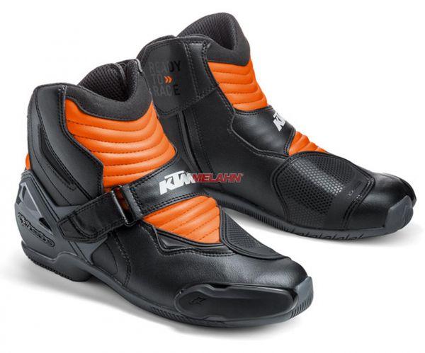 ALPINESTARS Stiefel: S-MX 1, schwarz/orange