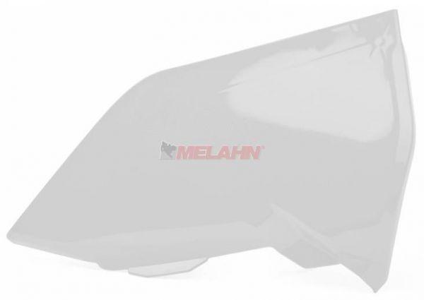 POLISPORT Luftfilterkastendeckel links, KTM SX 19- / EXC 20-, weiß