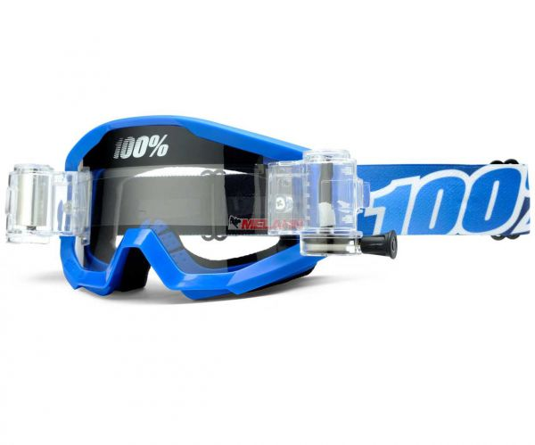 100% Brille: Strata Blue Lagoon Roll-Off, blau