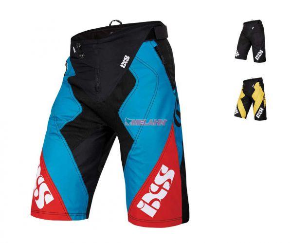 IXS Bike-Shorts: Vertic 6.1, blau/rot