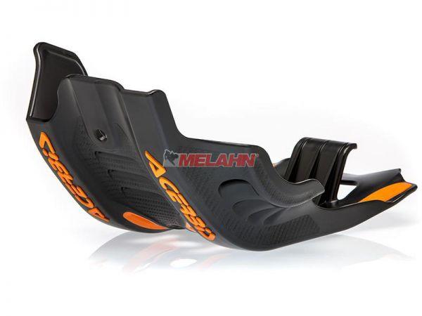 ACERBIS Kunststoff-Motorschutz groß, schwarz, 450/500 EXC-F 17-19