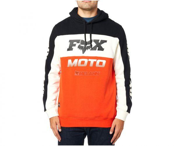FOX Hoody: Charger, orange/schwarz/weiß