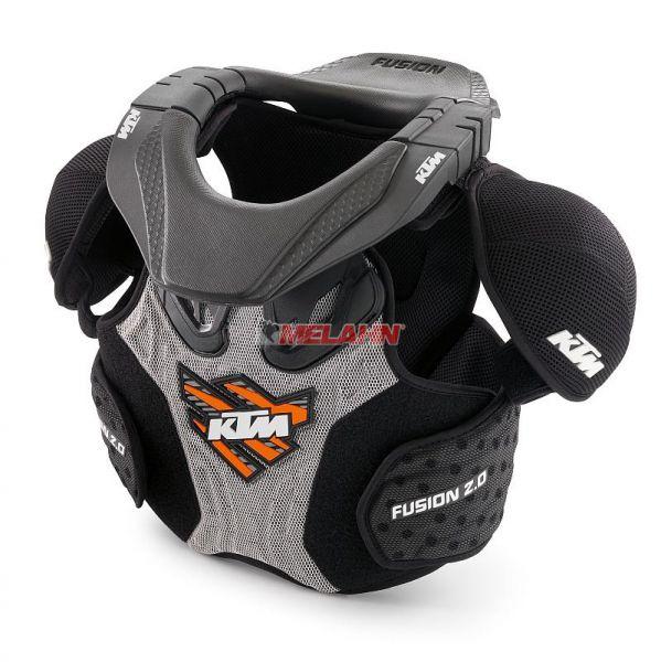 KTM Kids Brustpanzer: Fusion 2.0, schwarz