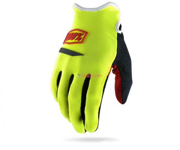 100% Handschuh: Ridecamp, neon-gelb