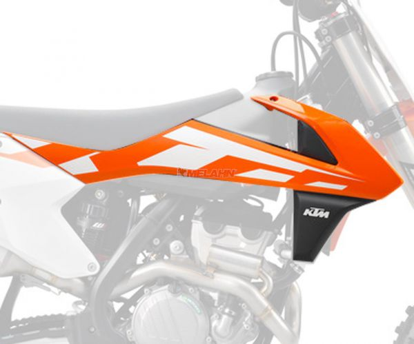 KTM Spoiler (Paar) mit Dekor, orange, SX 2016