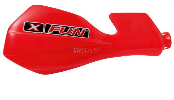 X-FUN Handprotektor (Paar): MX CRF 450 02-03, rot