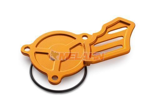 KTM SXS Aluminium-Ölpumpendeckel 250/350 SX-F 16-, orange