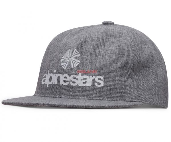 ALPINESTARS Cap: One Vision, grau