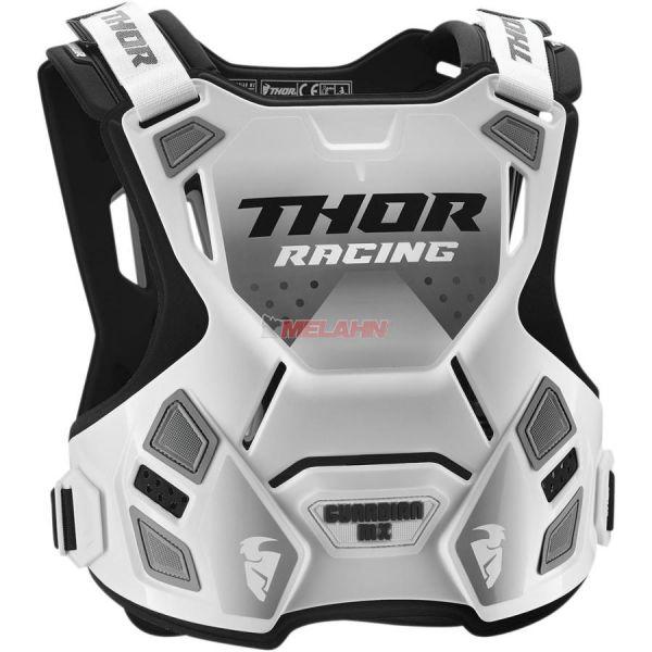 THOR Kids Brustpanzer: Guardian MX Mini, weiß, XXS/XS (5-8 Jahre)