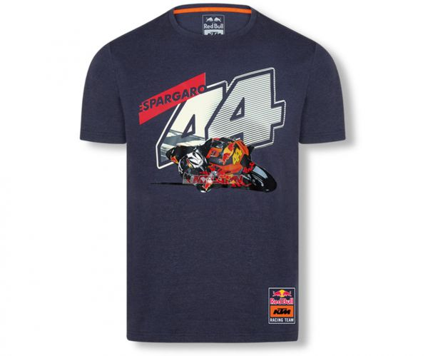 KTM RED BULL T-Shirt: KTM POL ESPARGARÓ #44, navy