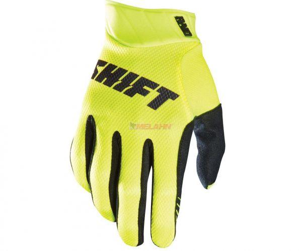 SHIFT Handschuh: Raid, neon-gelb