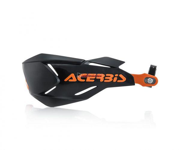 ACERBIS Handprotektor (Paar): X-Factory, schwarz/orange