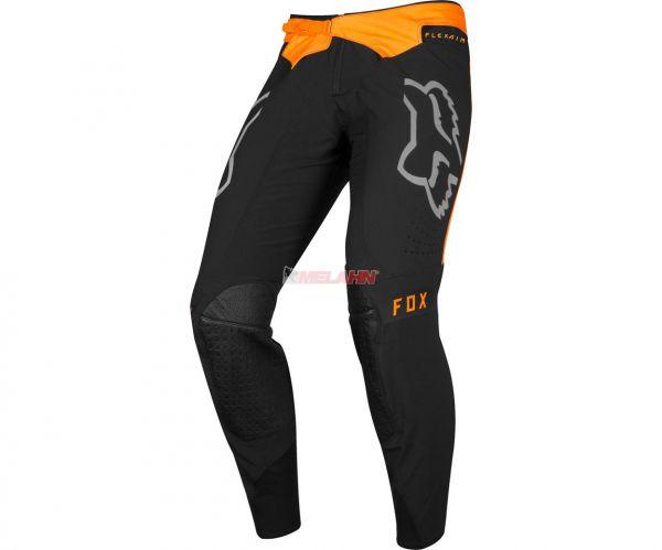 FOX Hose: Flexair Royl, schwarz/orange