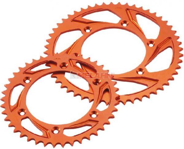 KTM Aluminium-Schlammkettenrad orange (Design kann abweichen)