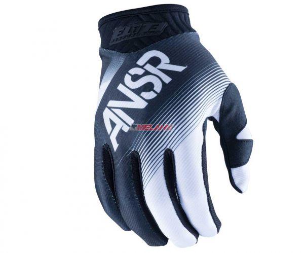 ANSWER Handschuh: Elite, schwarz/weiss