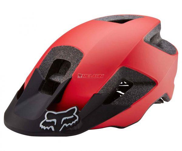FOX MTB-Helm: Ranger, rot/schwarz